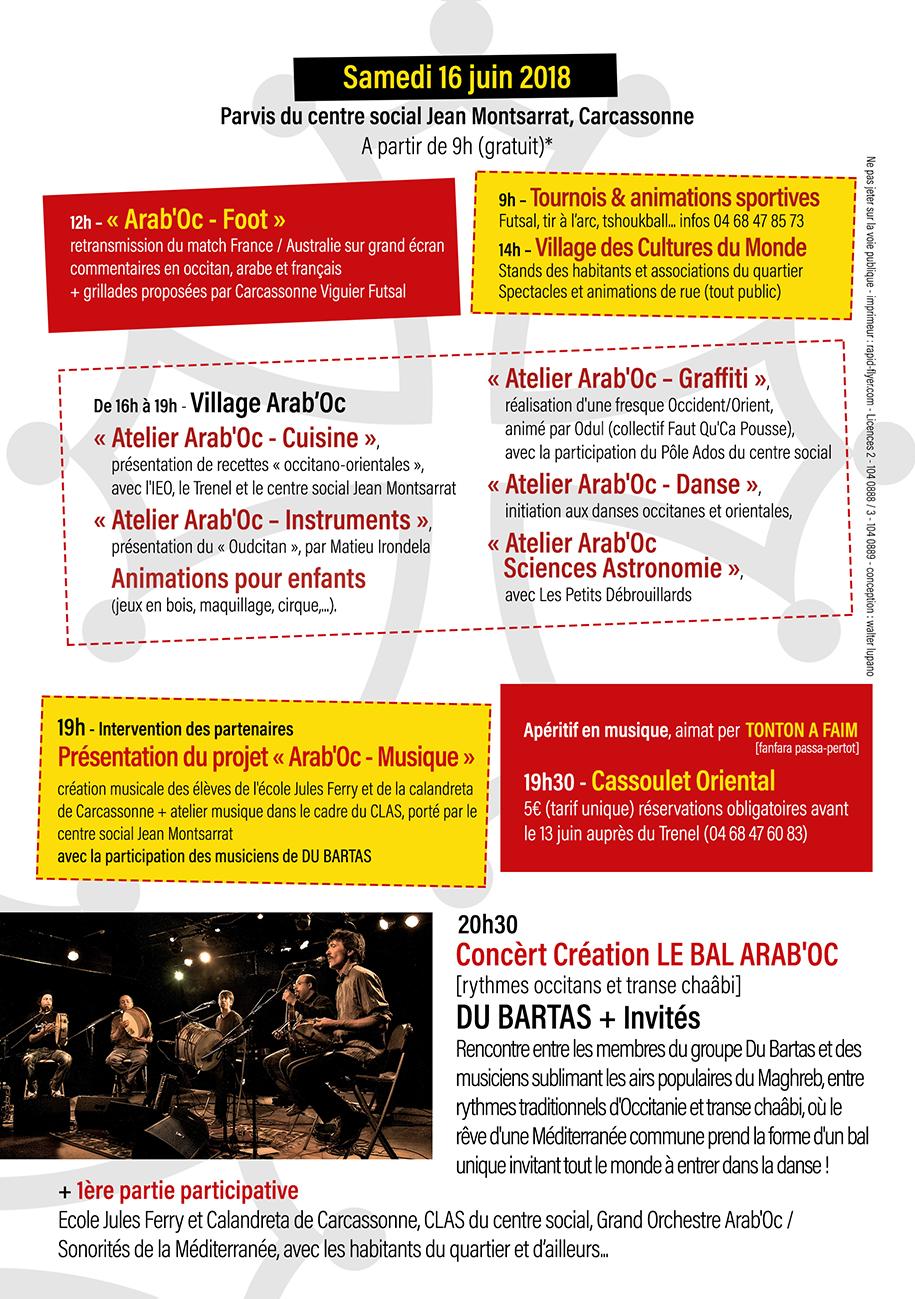 Festival Total Festum 2018 : programme