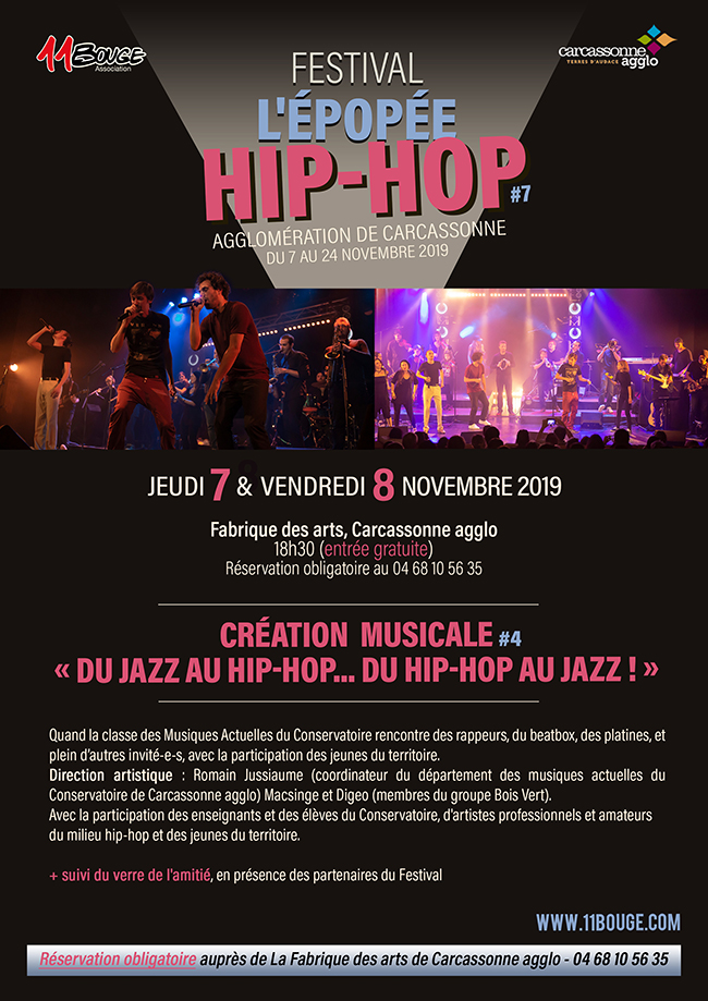 creation musicale - du jazz au hip-hop