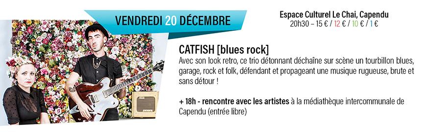 catfish - blues rock