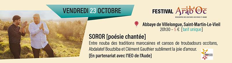Concert Soror arabo-occitan