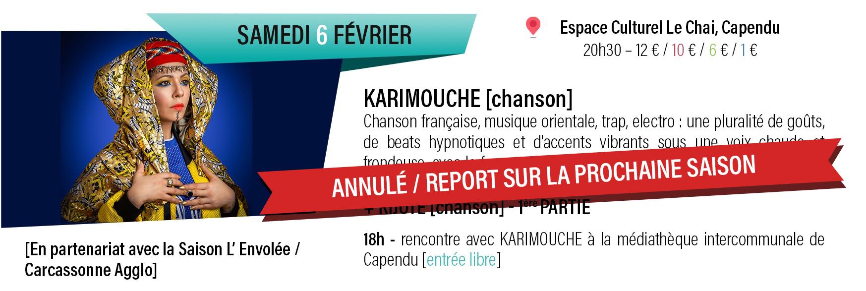 concert Karimouche