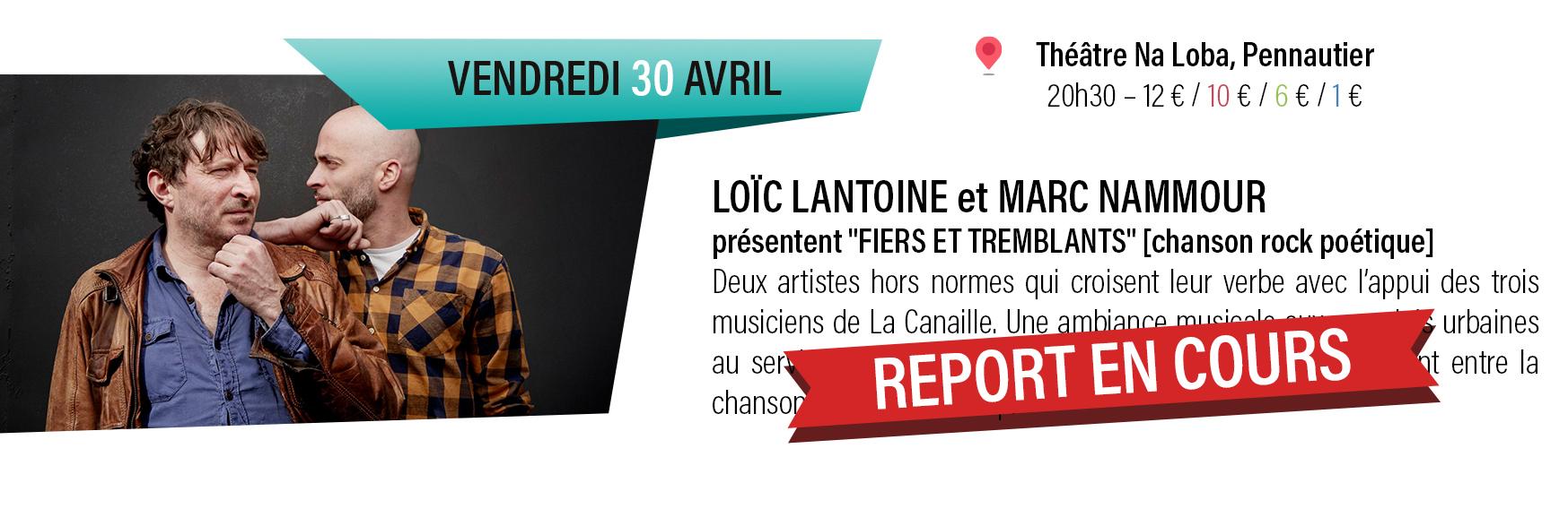 concert Loïc Lantoine et Marc Nammour
