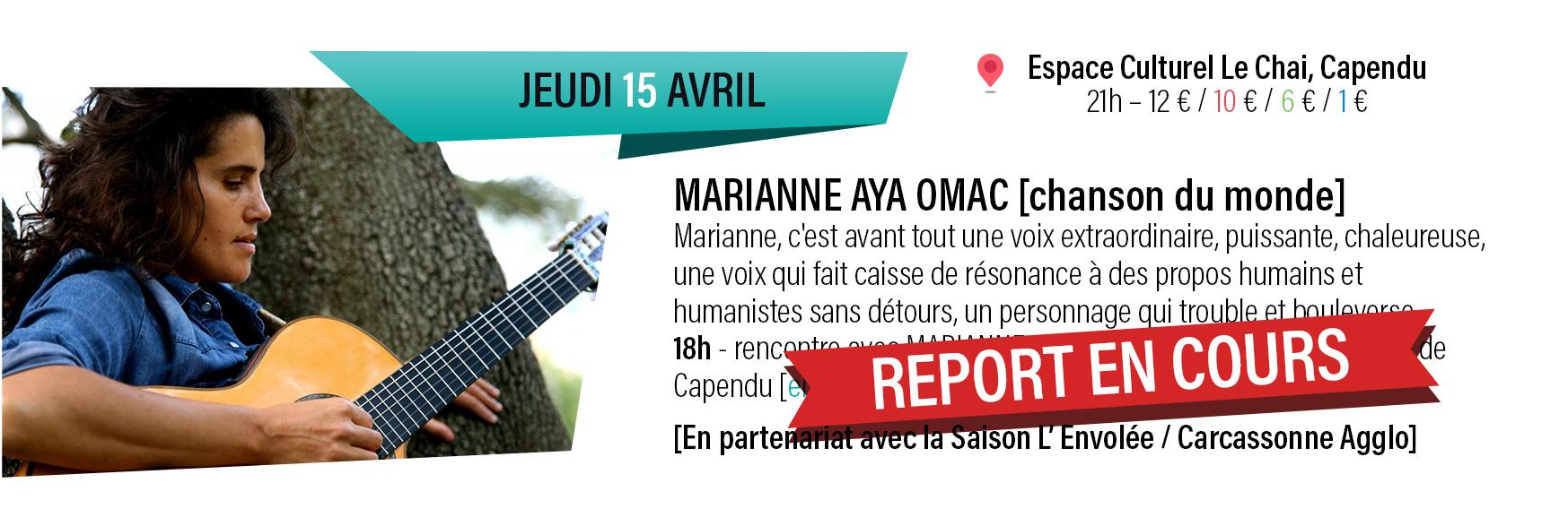 Marianne Aya Omac : chanson du monde