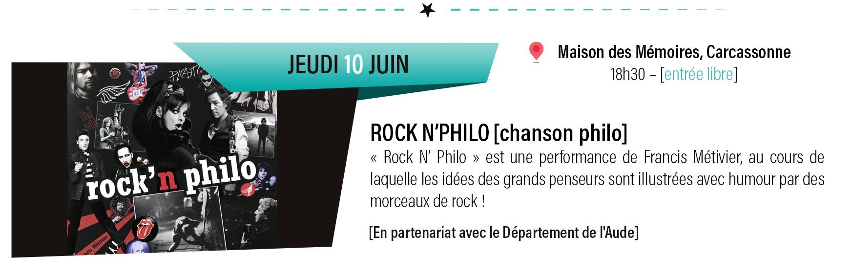 concert Rock'n philo
