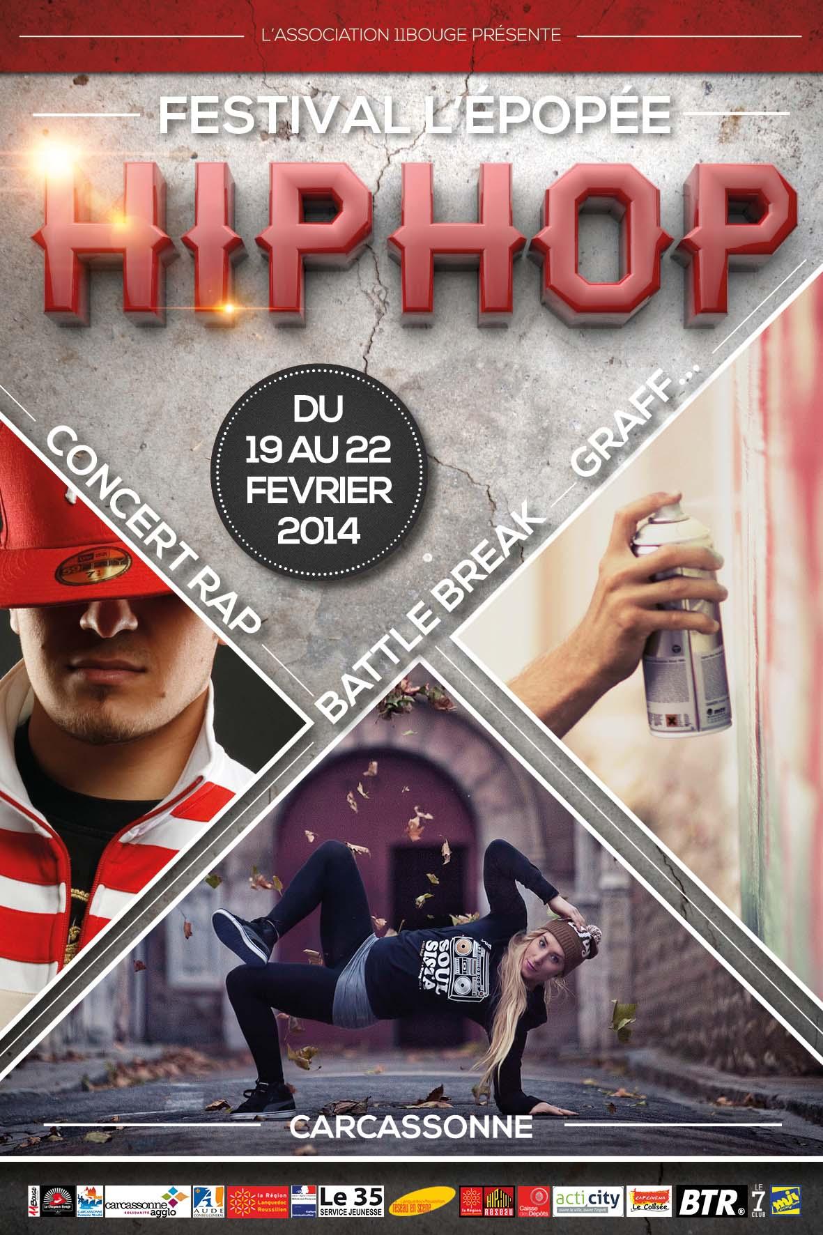 visuel festival l'epopée hip hop