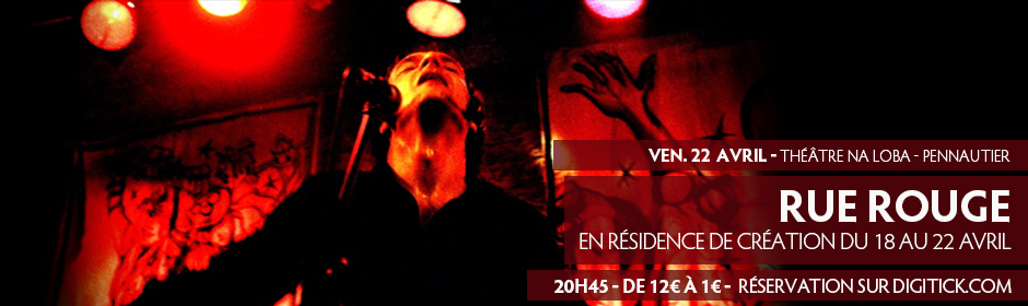 Concert de Rue Rouge au Théâtre de Na Loba à Pennautier
