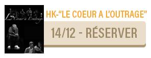 HK - Le coeur à l'outrage - concert Carcassonne