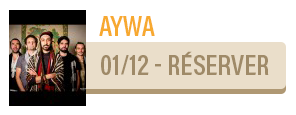Aywa - concert Carcassonne