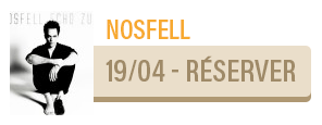 NOSFELL [CHANSON POP] - concert Carcassonne