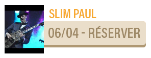 SLIM PAUL [FOLK ROCK BLUES]- concert Carcassonne