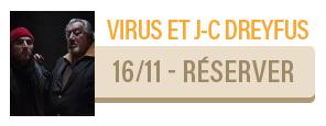 Virus & Jean Claude Dreyfus - concert Carcassonne