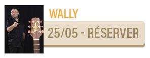 WALLY [CHANSON HUMOUR PROTÉIFORME] - concert Carcassonne