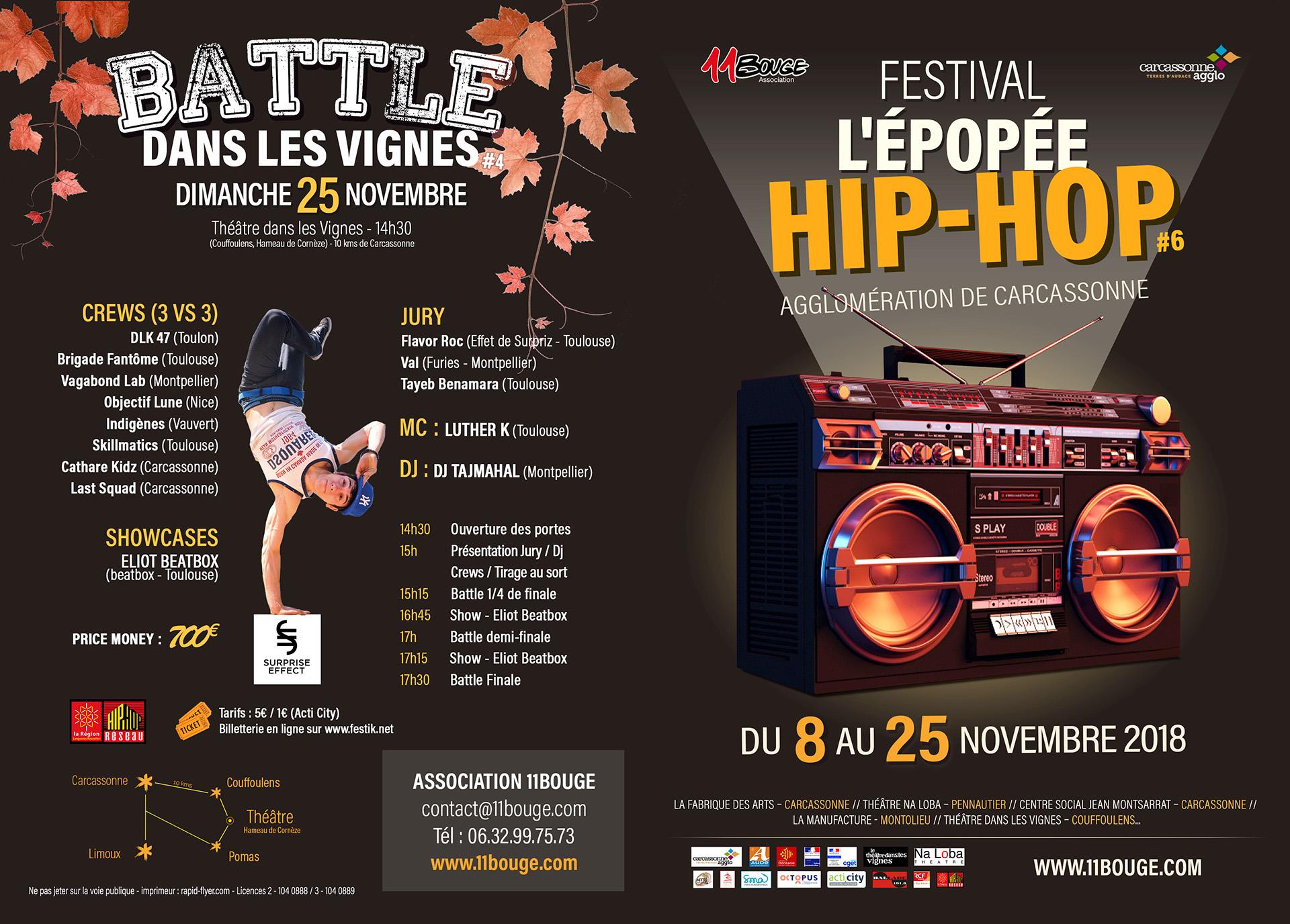 Festival L'Epopée Hip-Hop 2018